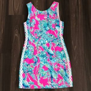 Lilly Pulitzer Mila Shift in Lobsters in Love